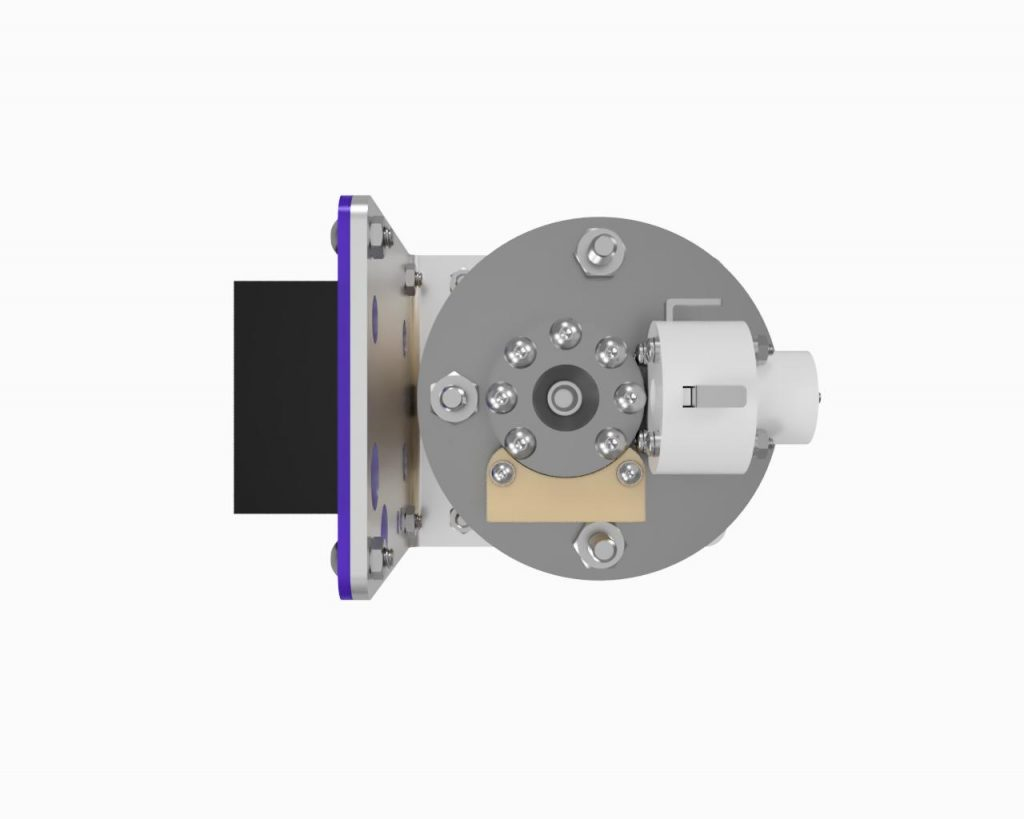 AIS-EHT1 Micro End Hall Thruster Fully Integrated System - Render 4