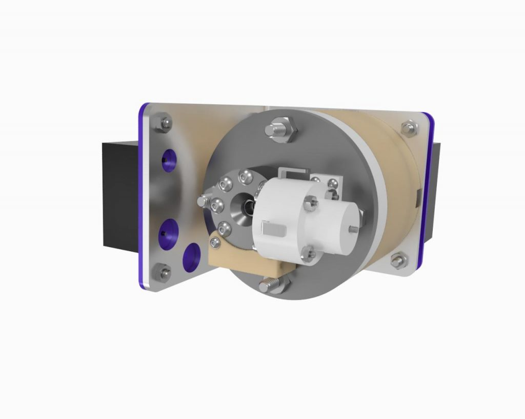 AIS-EHT1 Micro End Hall Thruster Fully Integrated System - Render 5