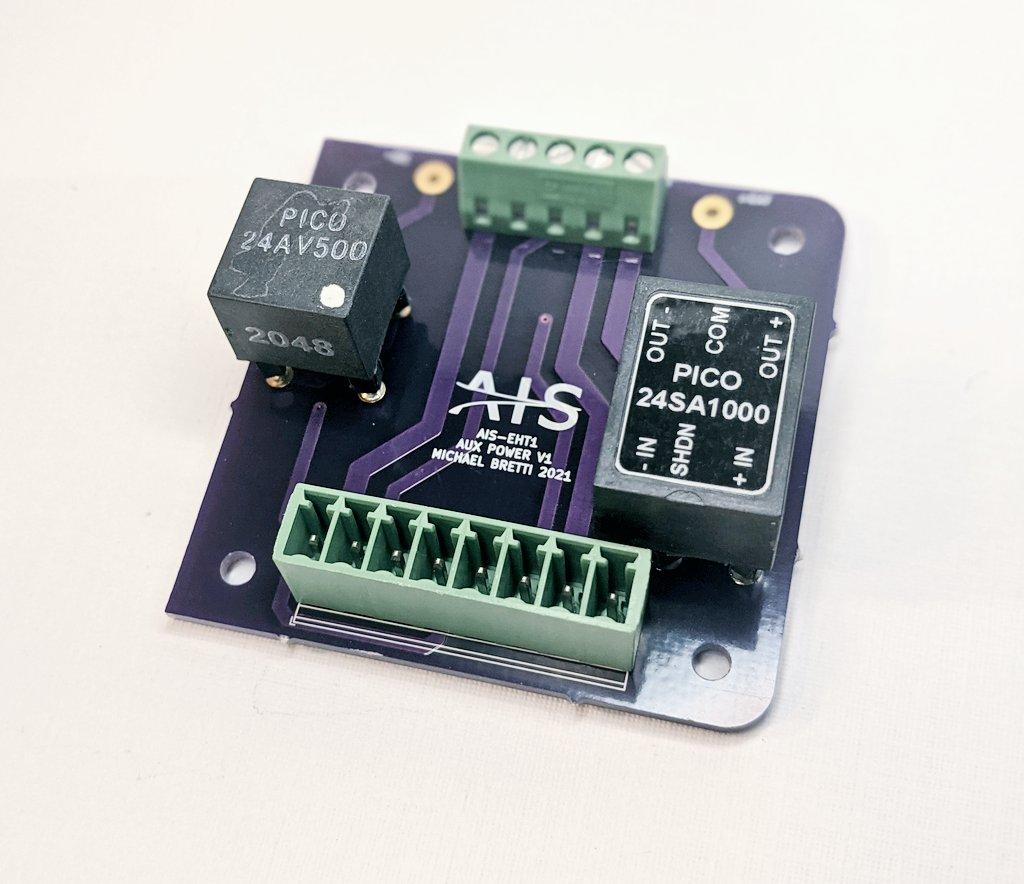 AIS-EHT1 Micro End Hall Thruster - Auxiliary Power Board V1