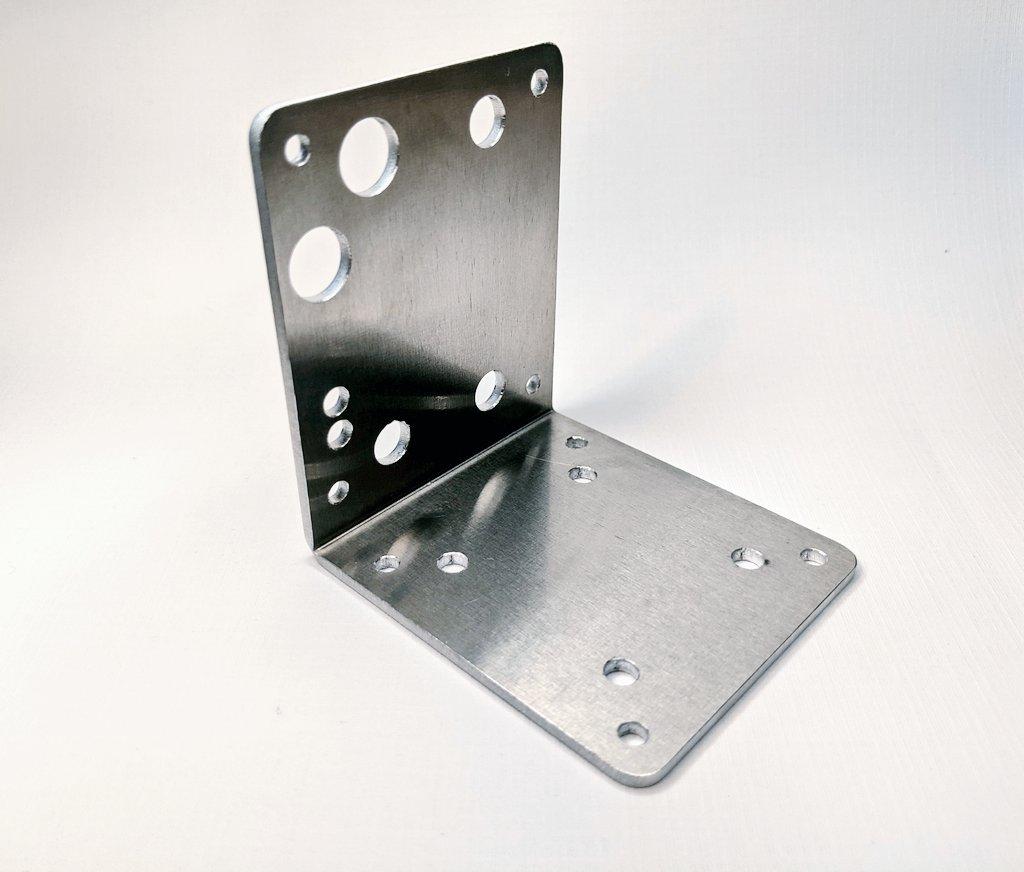 AIS-EHT1 Micro End Hall Thruster - Electronics Mounting Bracket