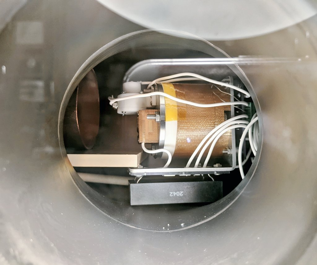 AIS-EHT1 Micro End Hall Thruster - Full System Ignition Test 1 - Chamber