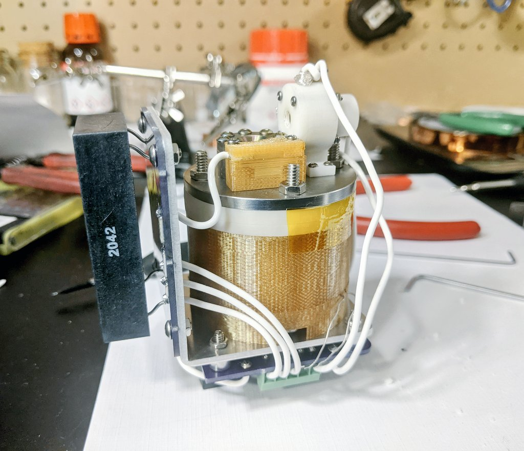 AIS-EHT1 Micro End Hall Thruster - Full System Ignition Test 1 - Wiring 2