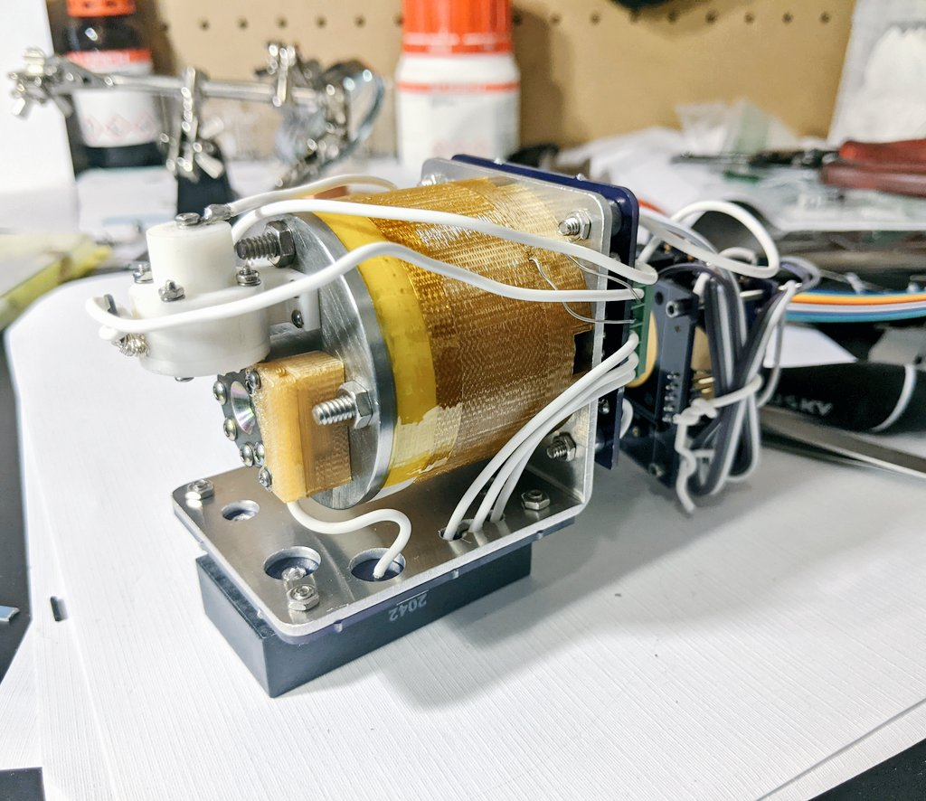 AIS-EHT1 Micro End Hall Thruster - Full System Ignition Test 2 - Hollow Cathode Driver Mod 2