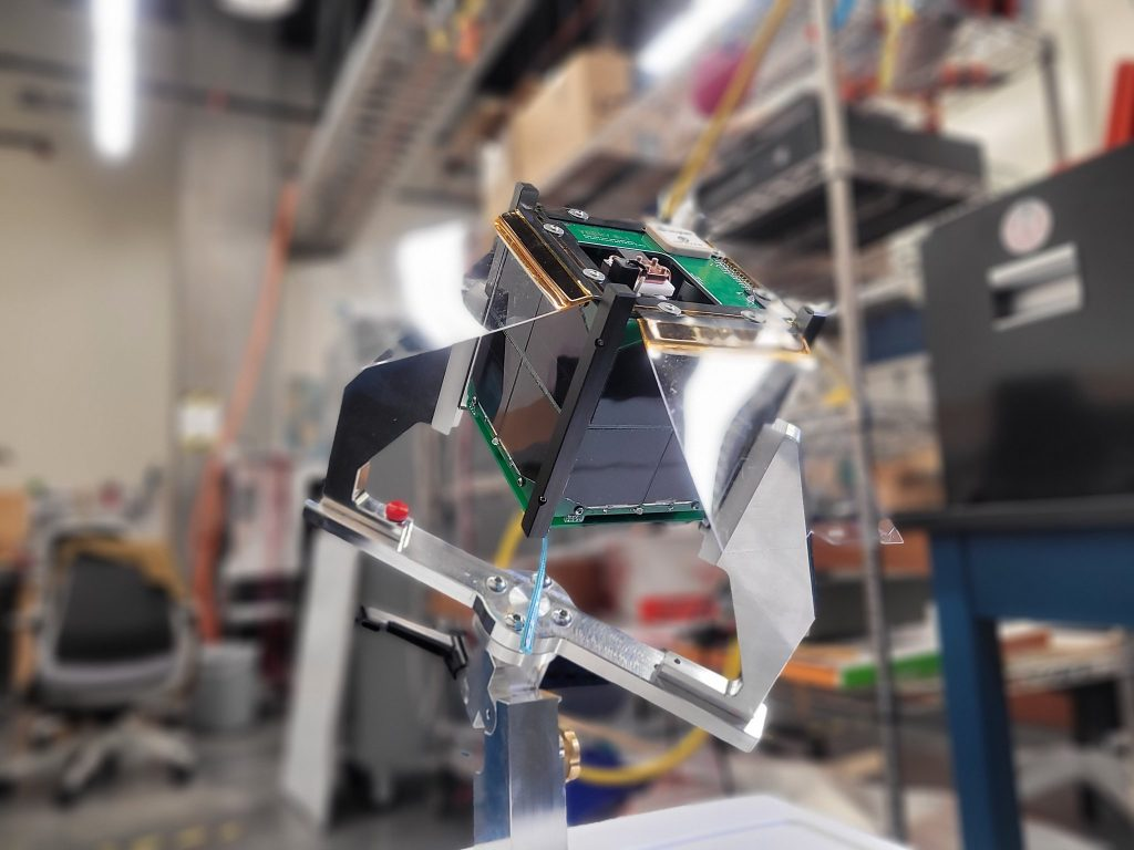Care Weather Hatchling Veery 1U Cubesat with AIS-gPPT3-1C Micro Pulsed Plasma Thruster 2