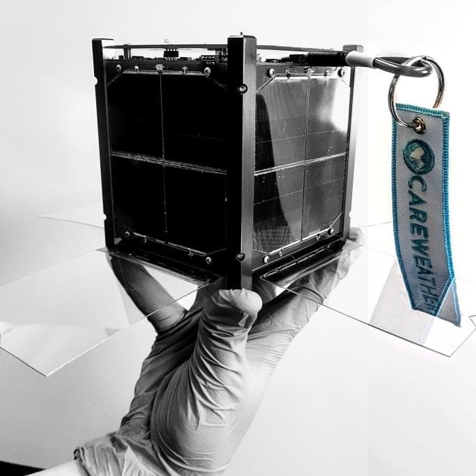 Care Weather Hatchling Veery 1U Cubesat