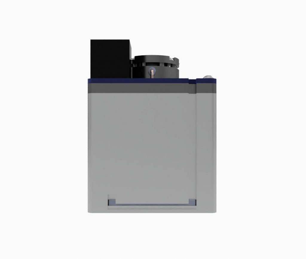 AIS-AHT1-PQ - Pico Anode Layer Hall Thruster - Side 1 CAD Render