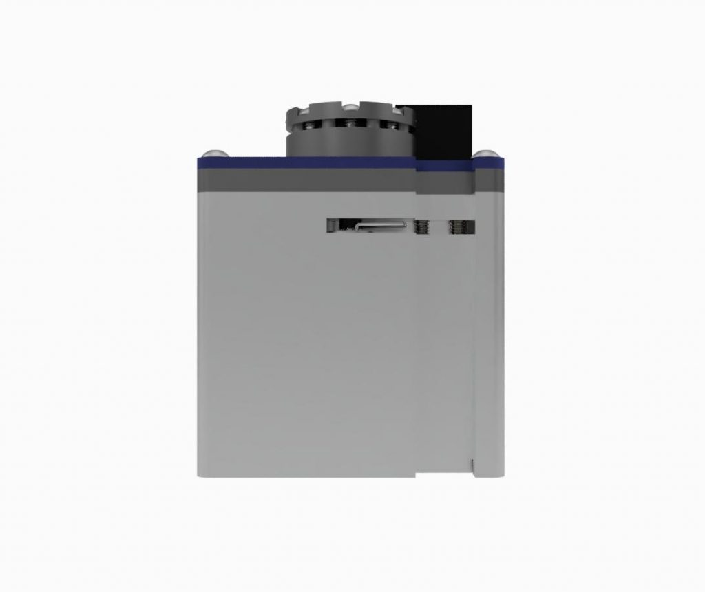 AIS-AHT1-PQ - Pico Anode Layer Hall Thruster - Side 2 CAD Render