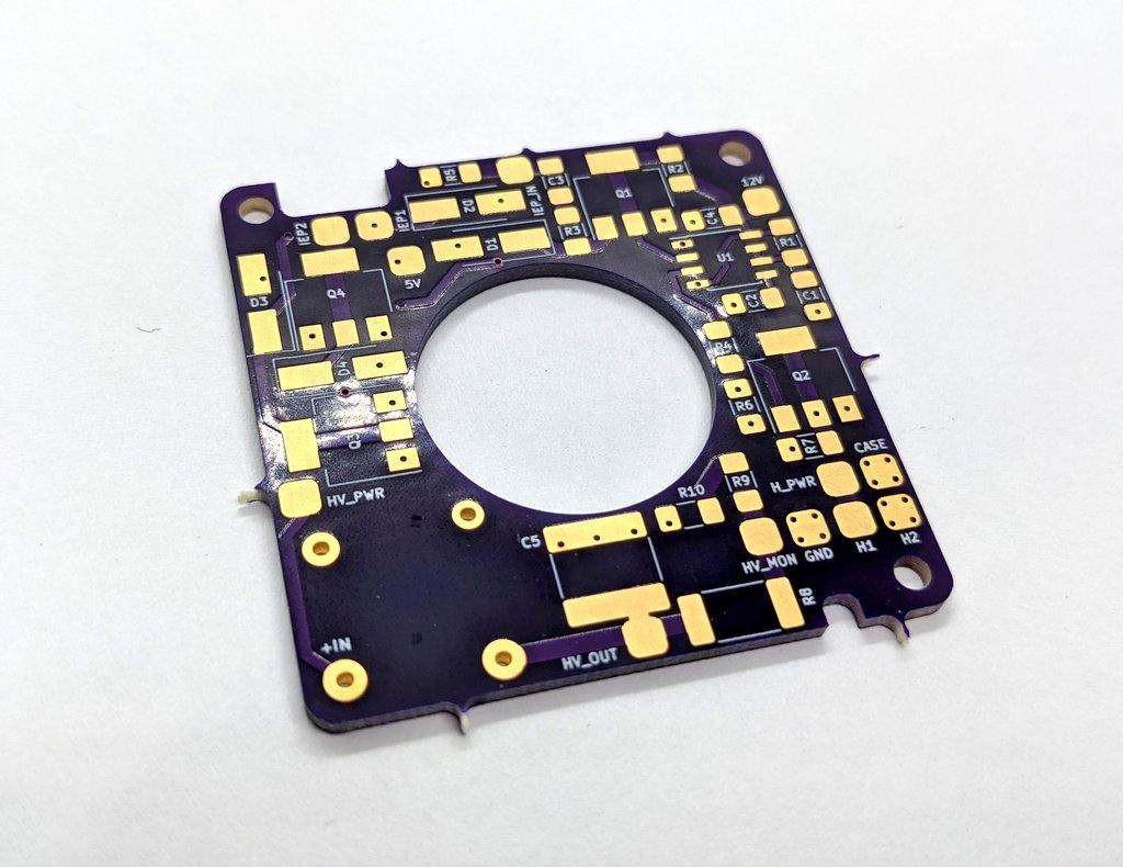 AIS-AHT1-PQ Pico Anode Layer Hall Thruster - V1 PCB Pic 1