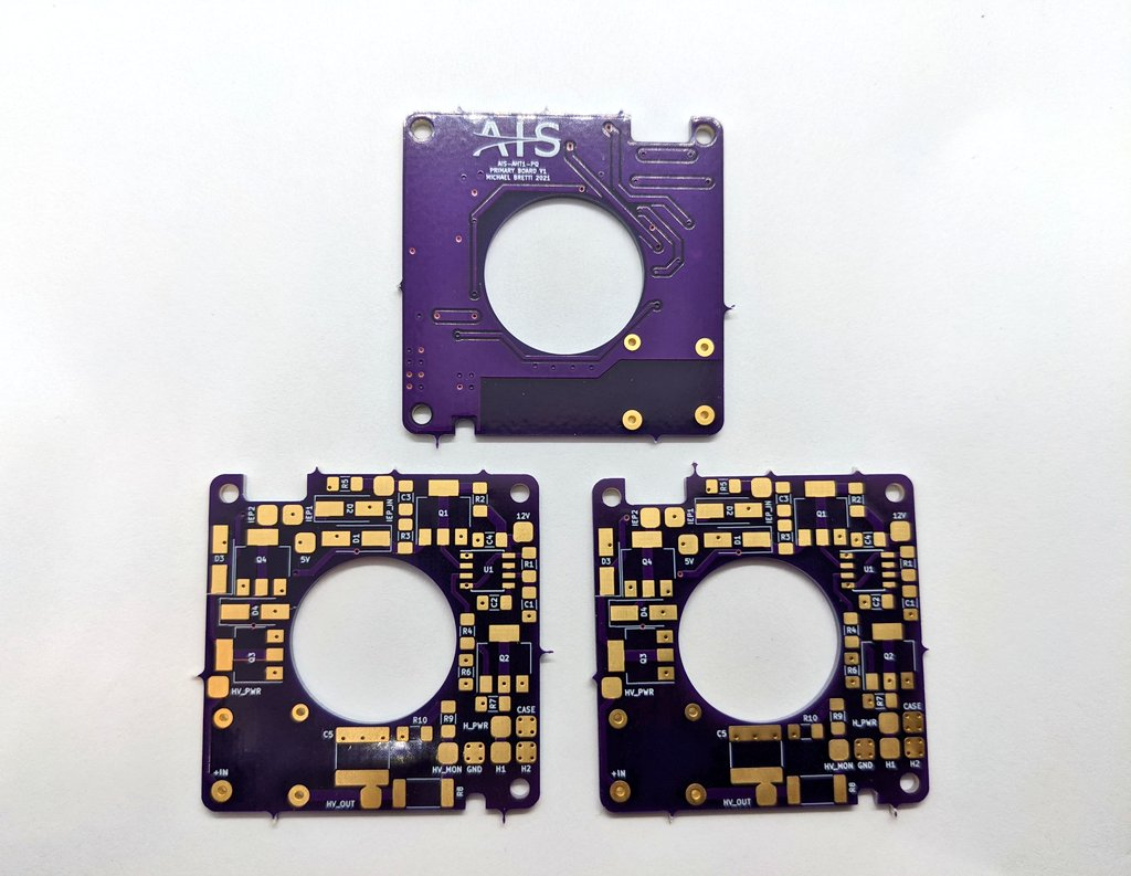 AIS-AHT1-PQ Pico Anode Layer Hall Thruster - V1 PCB Pic 2
