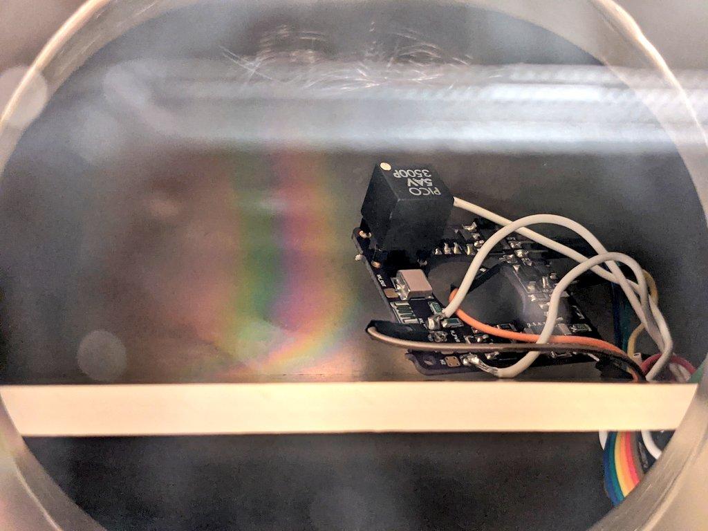AIS-AHT1-PQ Pico Anode Layer Hall Thruster - V1 PCB Vacuum Breakdown Testing